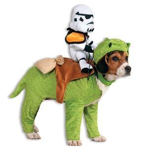 NEW Star Wars Dewback & SandTrooper Pet Costume